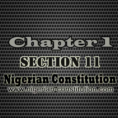 Chapter 1 Section 11