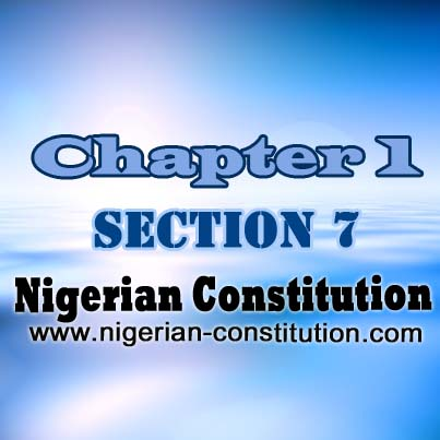 Chapter 1 Section 7, Local Government System