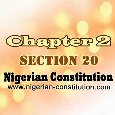 Chapter 2 Section 20