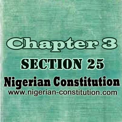 Chapter 3 Section 25