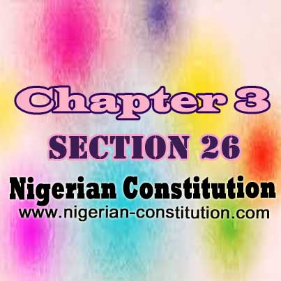 Chapter 3 Section 26