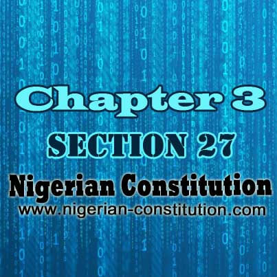 Chapter 3 Section 27