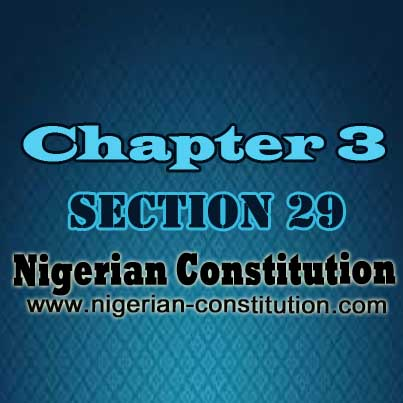 Chapter 3 Section 29