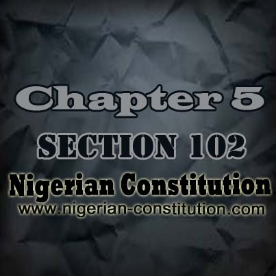 Chapter 5 Section 102