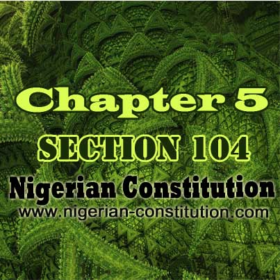 Chapter 5 Section 104