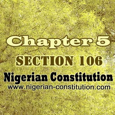 Chapter 5 Section 106
