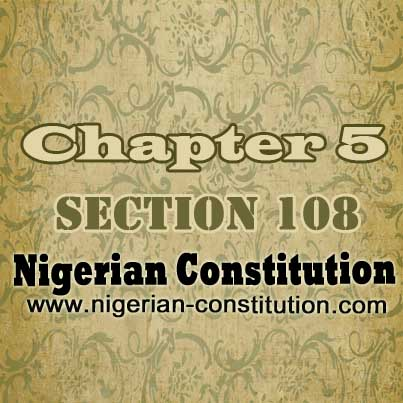 Chapter 5 Section 108