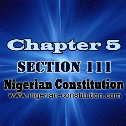 Chapter 5 Section 111