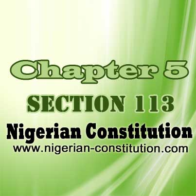 Chapter 5 Section 113