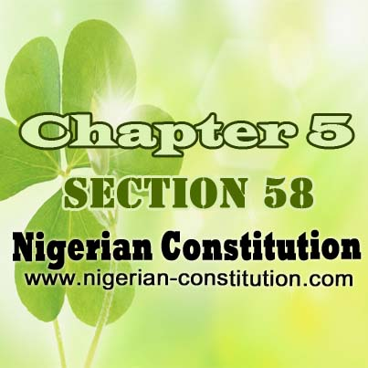 Chapter 5 Section 58