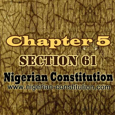 Chapter 5 Section 61