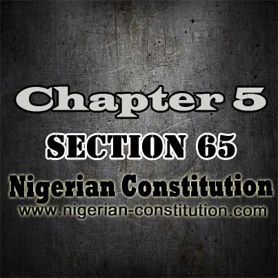 Chapter 5 Section 65