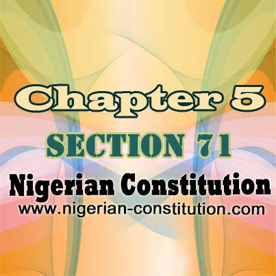 Chapter 5 Section 71
