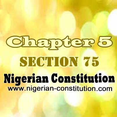 Chapter 5 Section 75