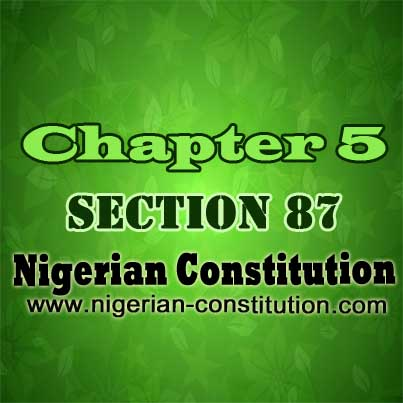 Chapter 5 Section 87