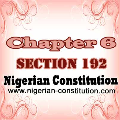 Chapter 6 Section 192