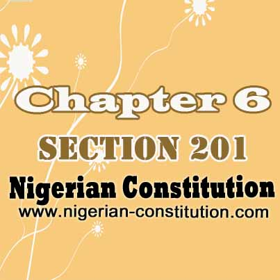 Chapter 6 Section 201