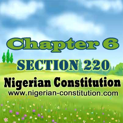 Chapter 6 Section 220