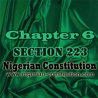 Chapter 6 Section 223