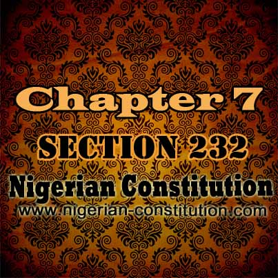 Chapter 7 Section 232