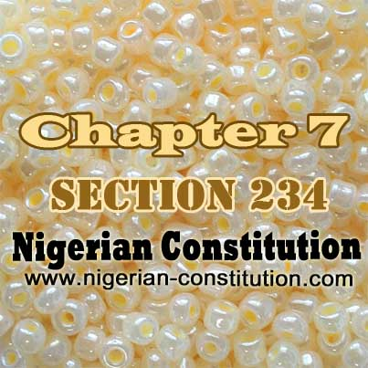 Chapter 7 Section 234