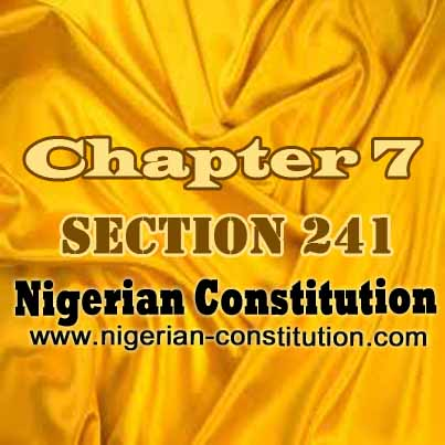 Chapter 7 Section 241
