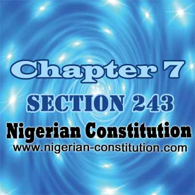 Chapter 7 Section 243