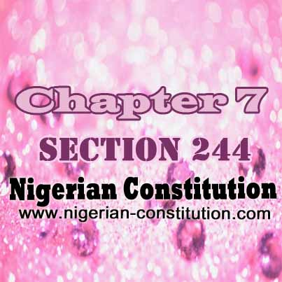 Chapter 7 Section 244