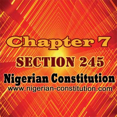Chapter 7 Section 245