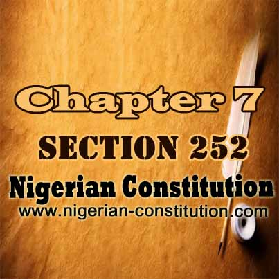 Chapter 7 Section 252