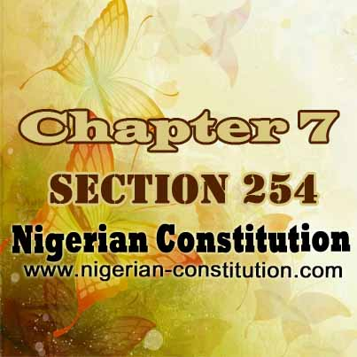 Chapter 7 Section 254