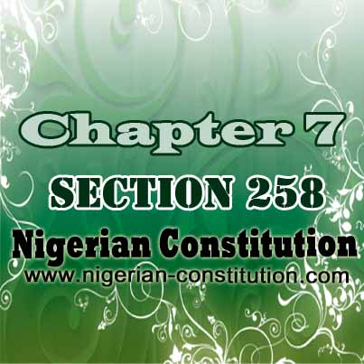 Chapter 7 Section 258
