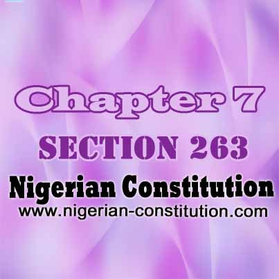 Chapter 7 Section 263