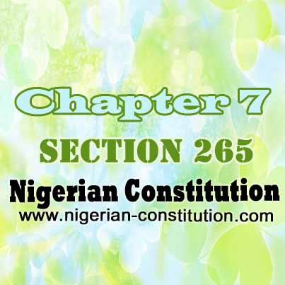 Chapter 7 Section 265