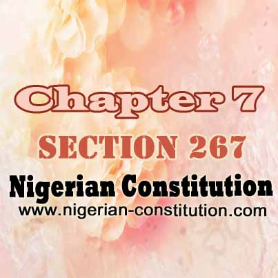 Chapter 7 Section 267