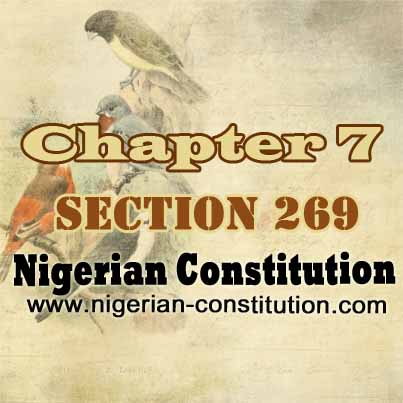 Chapter 7 Section 269