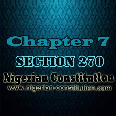 Chapter 7 Section 270