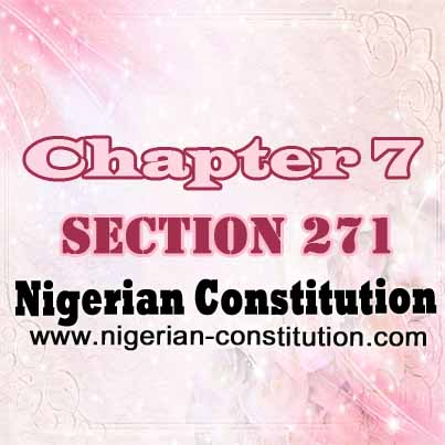 Chapter 7 Section 271