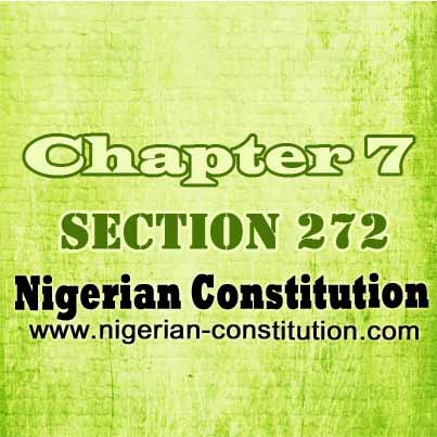 Chapter 7 Section 272