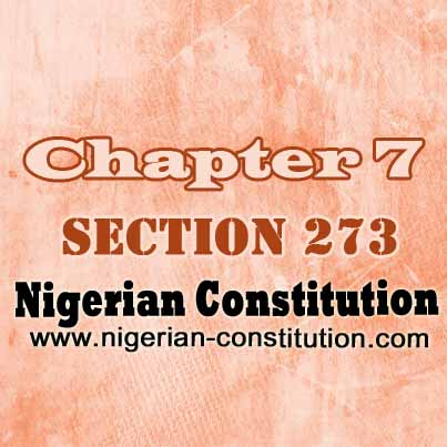 Chapter 7 Section 273