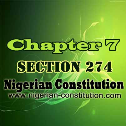 Chapter 7 Section 274
