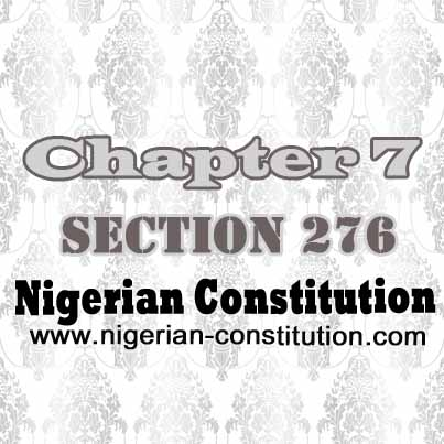Chapter 7 Section 276