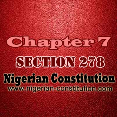 Chapter 7 Section 278