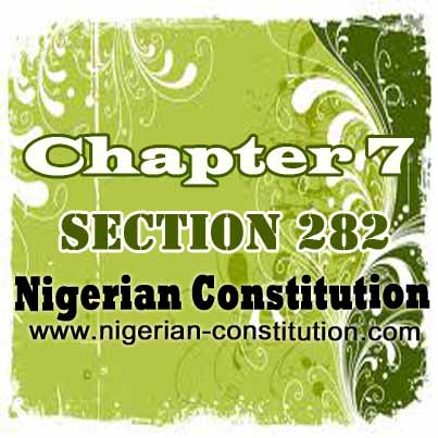 Chapter 7 Section 282
