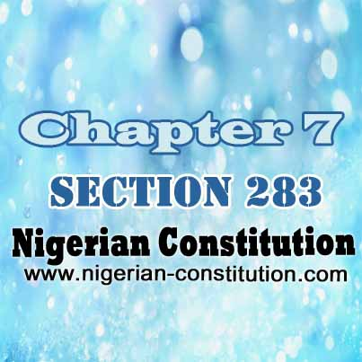 Chapter 7 Section 283
