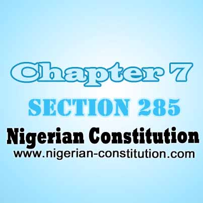 Chapter 7 Section 285