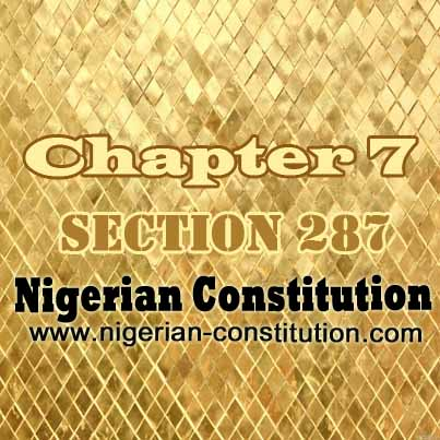 Chapter 7 Section 287