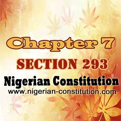 Chapter 7 Section 293
