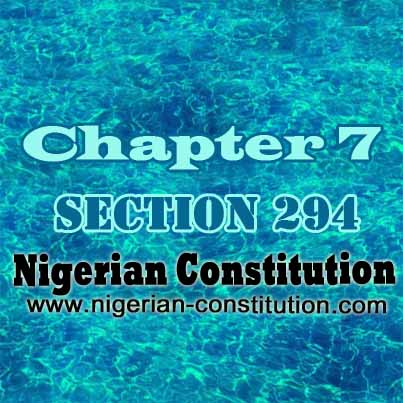 Chapter 7 Section 294