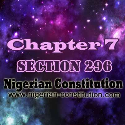 Chapter 7 Section 296